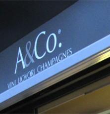 A&Co. Vini Liquori Champagne