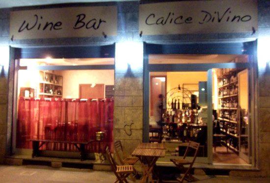 Calice di vino - esterno