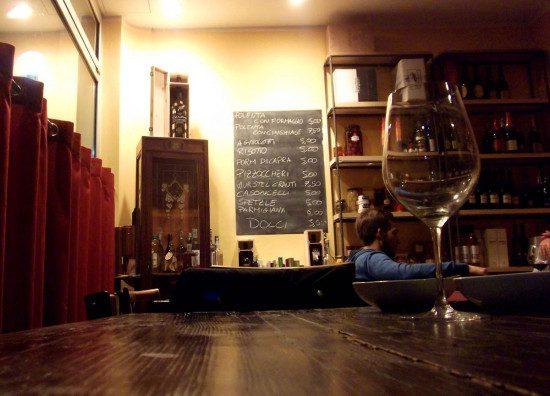 Calice di vino - interno