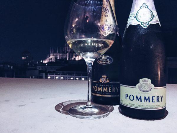 Champagne Pommery sotto le Stelle - Terrazza Boscolo Milano