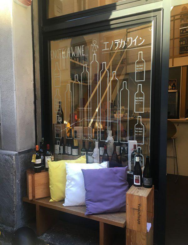 Enoteca Wine - Vetrina