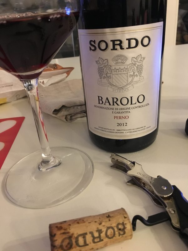 Barolo Sordo Perno 2012