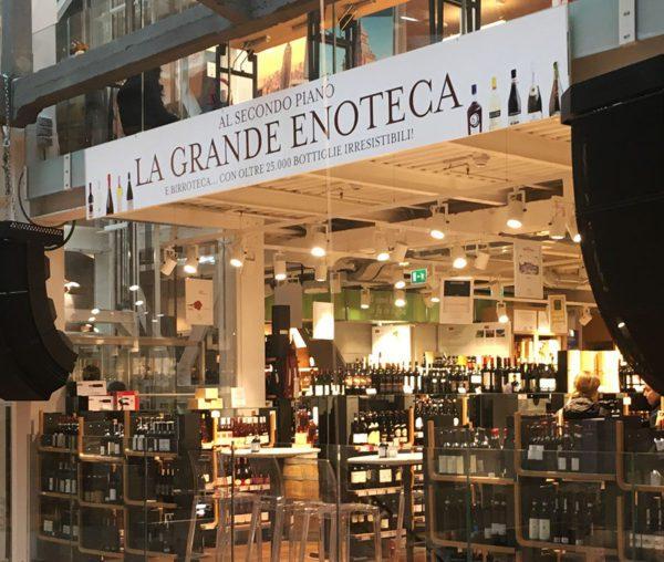 Eataly Milano Smeraldo - Enoteca