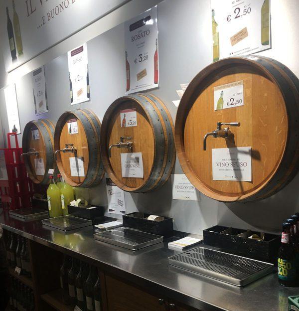 Eataly Milano Smeraldo - Vino sfuso