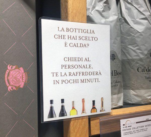 Eataly Milano Smeraldo - Servizi Enoteca