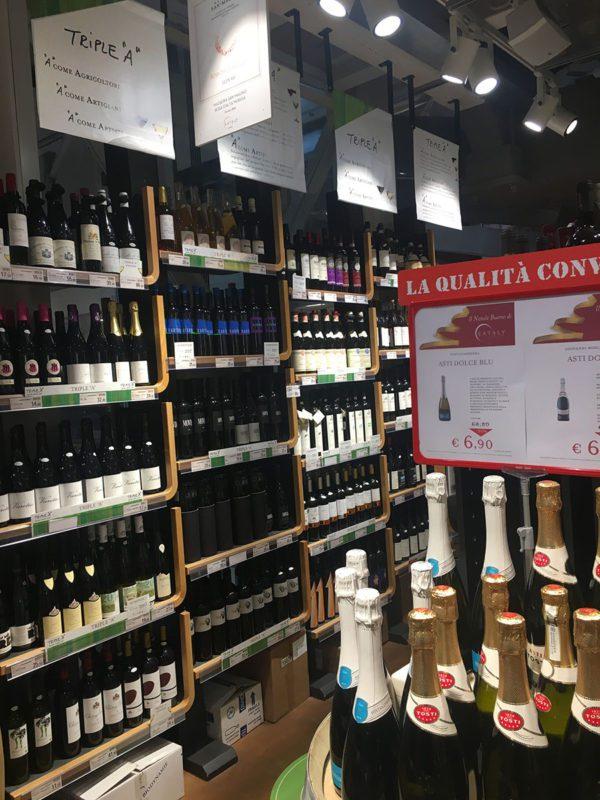 Eataly Milano Smeraldo - Enoteca vini Triple A
