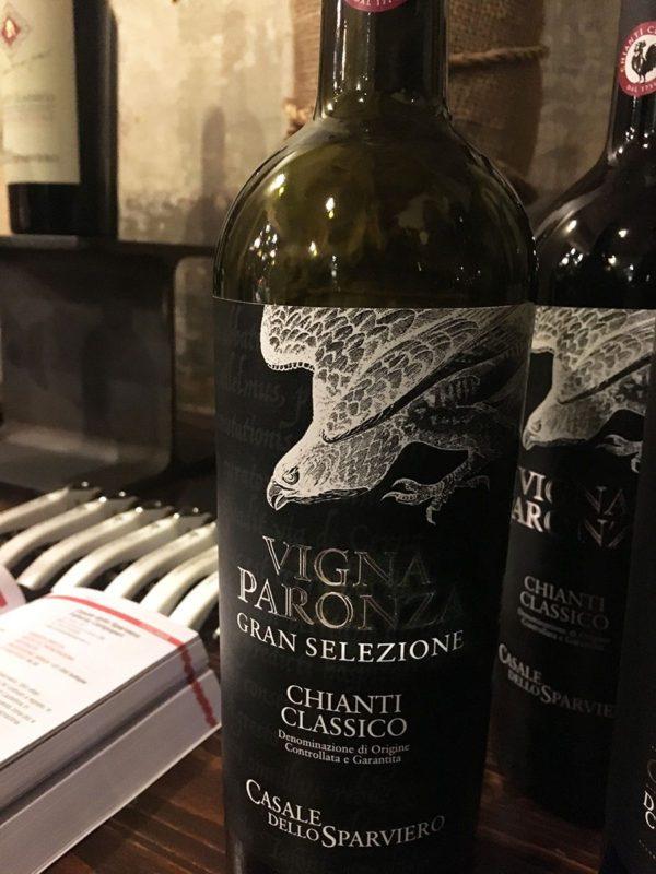 Casale dello Sparviero - Chianti Classico Vigna Paronza Gran Selezione 2012