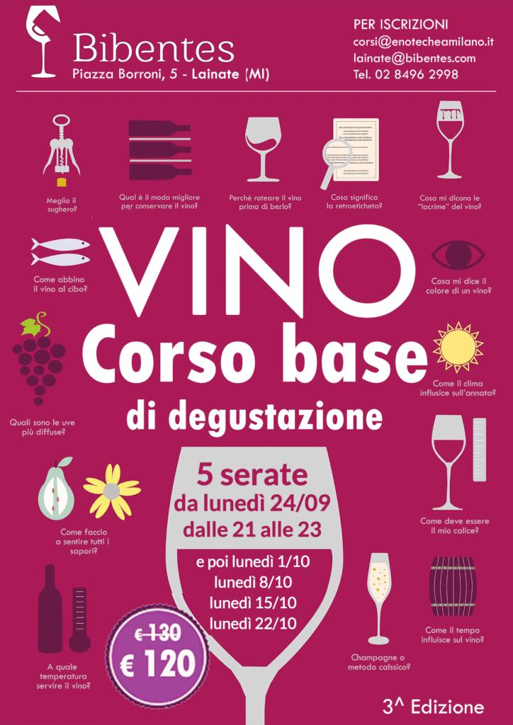 Corso di degustazione vino a Lainate