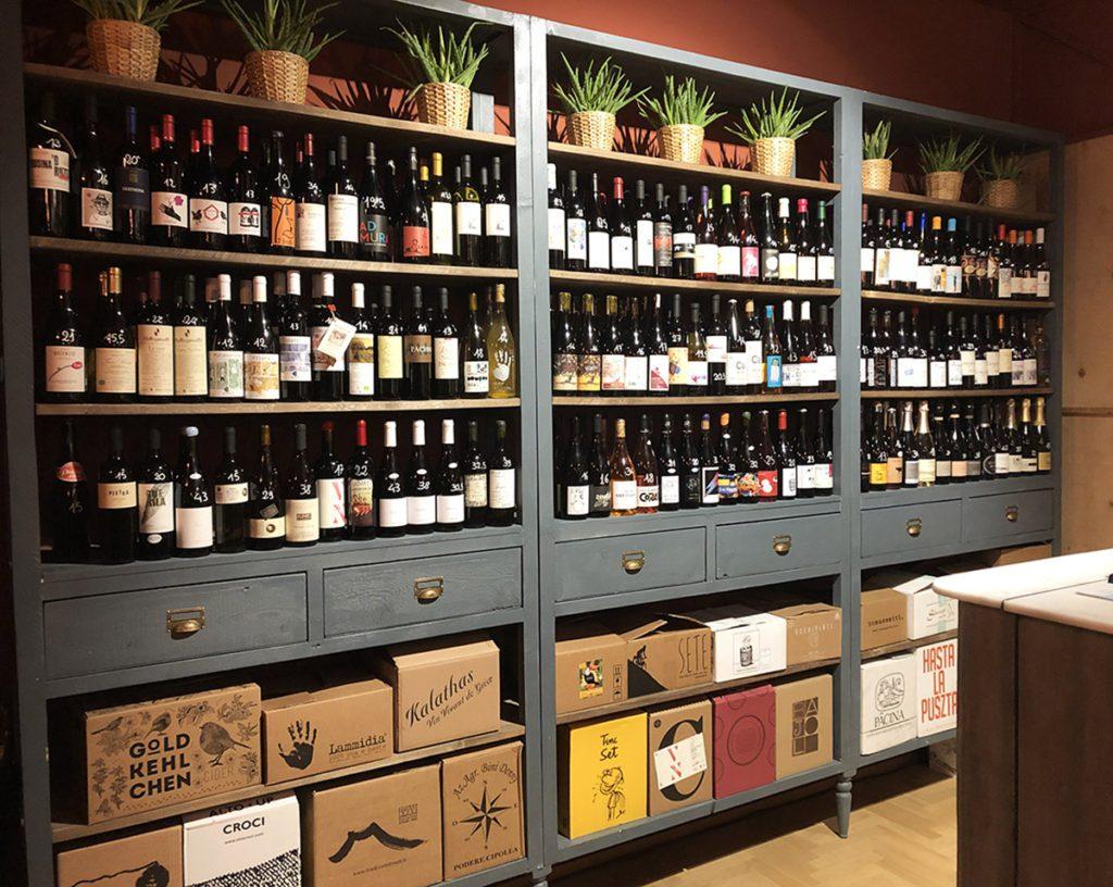 e/n enoteca naturale - vini esposizione