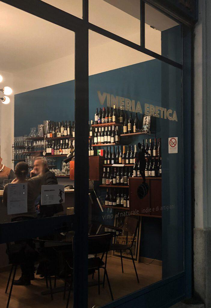 Vineria Eretica - Vetrina